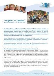 Monitor gezondheid 12 t/m 18 jarigen 2010 - GGD Zeeland