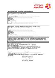 Opdrachtformulier en checklist rechtspositiebepaling VvE (PDF)