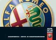 Service & Garantie 2006
