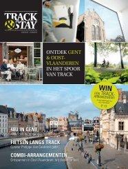 fietsen langs track - Toerisme Oost-Vlaanderen