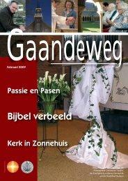 Gaandeweg februari 2009 - Protestantse Gemeente Zwolle