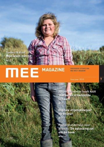 Mijn leven met CF - MEE West-Brabant