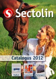 Download hier de Sectolin catalogus - Paard & bedrijf