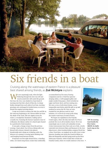 Download the article - Nicols Canal boat