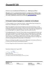Pressmeddelande angående begäran om ändrad ... - Ölandsbron.com