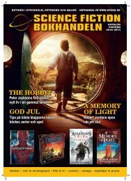 god jul a memory of light the hobbit - Science Fiction Bokhandeln