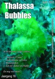 Bubbles • april 2008 - Duikteam Thalassa