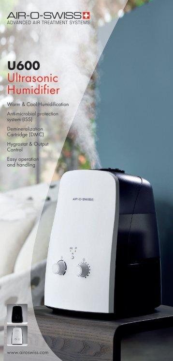 U600 Ultrasonic Humidifier