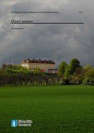Delrapport av kulturmiljöprogram för Södertälje kommun