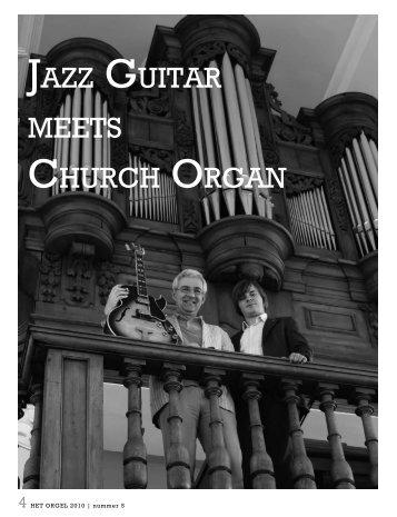 JAZZ GUITAR MEETS CHURCH ORGAN - Joep van Leeuwen