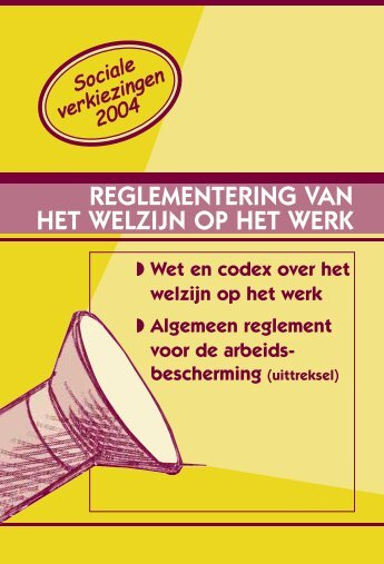 Wet en codex over het welzijn op het werk - Ergoteam