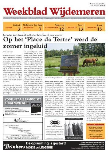 Weekblad Wijdemeren nummer 5 van 11-07-2013