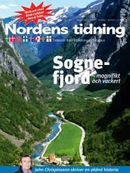 Nordens Tidning nr 2 2011 - Föreningen Norden