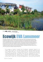 Ecowijk EVA Lanxmeer - De zonnearc
