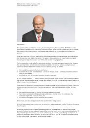 Dear readers, This report describes what Daimler means by ...