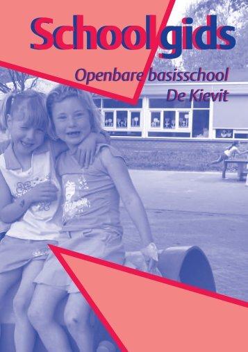 Schoolgids - OBS De Kievit