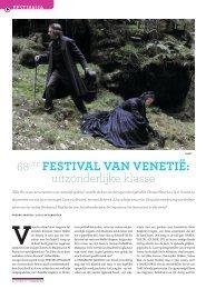 [PDF] 68ste Festival van Venetië: uitzonderlijke klasse - Filmmagie