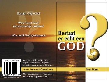 Bestaat er echt een God? - Schepping of Evolutie