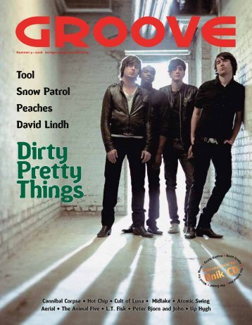 Dirty Pretty Things - Groove