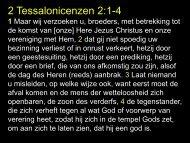 2 Tessalonicenzen 2:1-4