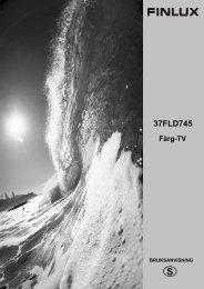 37FLD745 Färg-TV - Target AS
