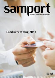 Produktkatalog 2013 - Samport