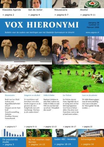 VOX Februari 2009 - USG Vox