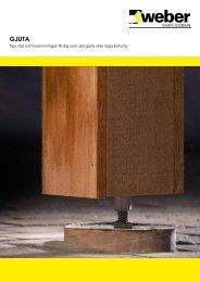 Tips, råd och beskrivningar till dig som ska gjuta eller laga betong