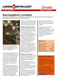 Direkte nr. 49, juni 2011 - Videncentret for Landbrug