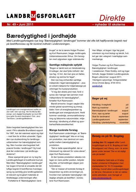 Direkte nr. 49, juni 2011 - Videncentret for Landbrug