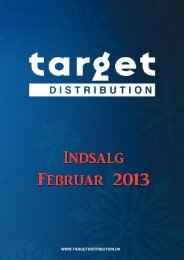 dangers of the sea - Target Distribution