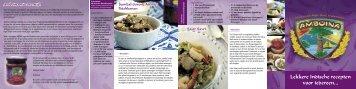 Bekijk het volledige recept - Amboina
