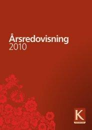 Årsredovisning 2010 - Kopparstaden AB
