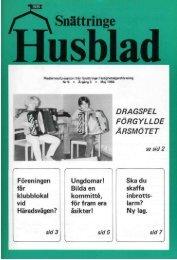 1984-1 - Snättringe fastighetsägareförening