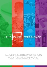 Brochure The Paint Experience