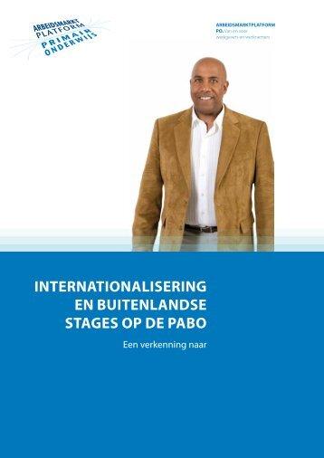 internationalisering en buitenlandse stages op de pabo