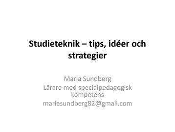 Studieteknik Magazines