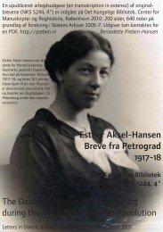 Esther Aksel-Hansen - Bernadette Preben-Hansen