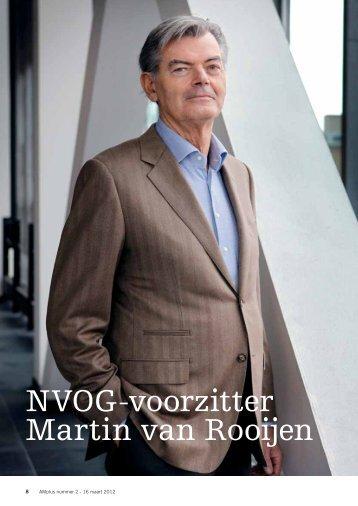 NVOG-voorzitter Martin van Rooijen
