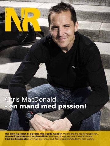 Chris MacDonald - en mand med passion!