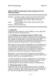 Referat af Styregruppemødet den 4. juni 2003 - Programgruppen for ...