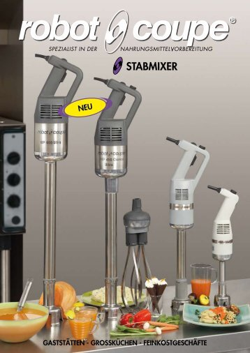 Stabmixer Robot-Coupe - Rotor Lips AG