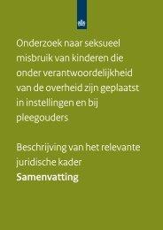 Samenvatting beschrijving juridische kader - Commissie-Samson