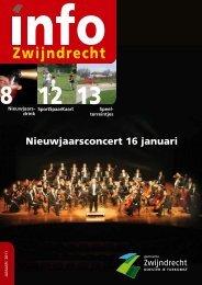 Nieuwjaarsconcert 16 januari - Gemeente Zwijndrecht