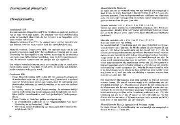 Internationaal privaatrecht Huwelijkssluiting - Vereniging RIMO