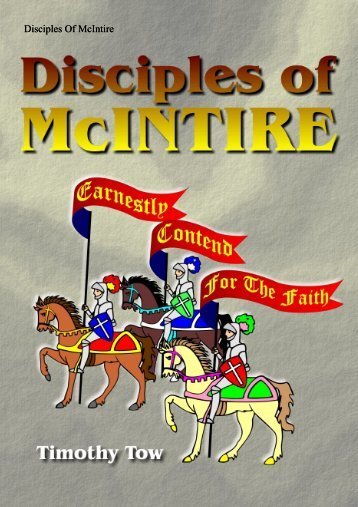Disciples Of McIntire - Far Eastern Bible College
