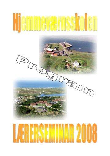 Seminar program