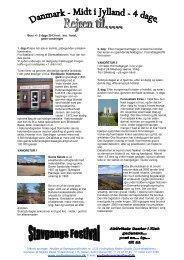 Midt i Jylland + vandre ture - Vordingborg Rejser Quality Tours