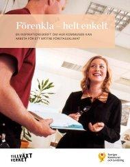 Förenkla – helt enkelt - Webbutik - Sveriges Kommuner och Landsting