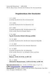 Propädeutikum Alte Geschichte - Klaus Geus
